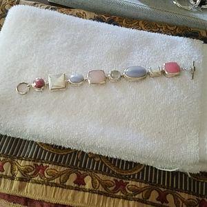 Jewelry - Sterling silver gemstone bracelet
